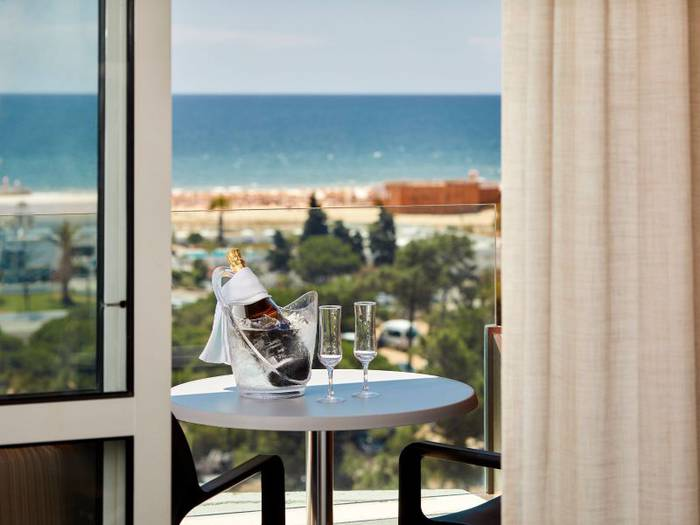 Deck suite  alcazar hotel & spa monte gordo